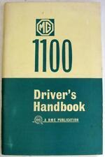 MG 1100 Sep 1967 AKD 3897 E Original Car Owners Handbook