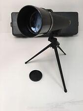 Bushnell Zoom 20-60 Telescope Sportview 78-2061 60mm Hard Case Tripod Spottily