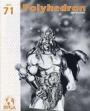 AD&D RPGA Polyhedron Magazine #71 Dungeons & Dragons Spelljammer Paranoia!