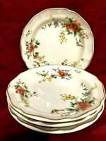 "Mikasa Heritage F2010 Capistrano Set Of 4 Salad Plates 8"" JAPAN"