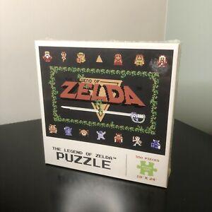 The Legend Of Zelda - 550 Piece Puzzle - Brand New Sealed - Free Postage