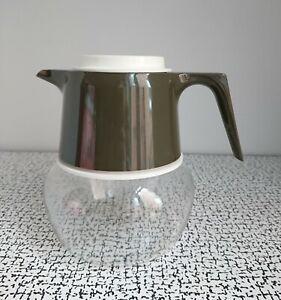 60s 70s Vintage Retro Plastic JAJ Pyrex Glass Coffee Pot Camping Picnic Kitchen