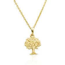 Gold Filled 14K necklace Tree of life pendant  minimalist jewelry