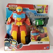 Transformers Rescue Bots Academy Rescue Power Hot Shot, 14-Inch Collectible Auto