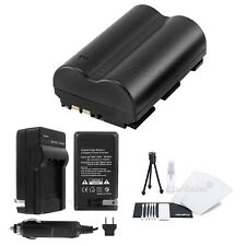 BP-511A Battery + Charger + BONUS for Canon Optura 10 20 100MC 50MC Pi Xi