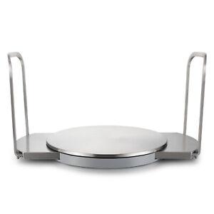 Stainless Steel Kitchen Plate Dish Holder Stacker Organiser Adjustable 220-330mm