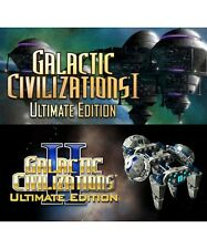 Galactic Civilizations I + II (1 - 2) Ultimate Edition - Steam CD-Key Digital
