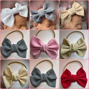 Baby  headband baby hairband large bow baby headband big bow Knot Bow