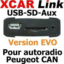 XCARLink USB-SD EVO PEUGEOT CAN 207,307(Ph2),308,407,508,3008,5008,RCZ