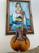 Vintage Harmony Monterey Archtop Acoustic Guitar Vintage  w/ Special Foam Case