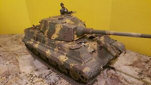 1/16 FORCES OF VALOR GERMAN KING TIGER 501ST SS SCHWERE PANZER ARDENNES
