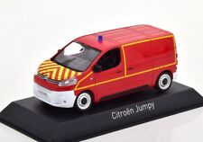 Citroen Jumpy Box Pompiers Red 1:43 Norev 155822 Diecast