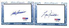 Don Zimmer Lou Pinella Cut Auto Historic Autographs Friends 'N Foes Autograph