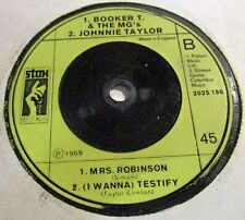 BOOKER T & THE MG's/JOHNNIE TAYLOR/ WILLIAM BELL & JUDY CLAY 3 TRACK STAX SINGLE