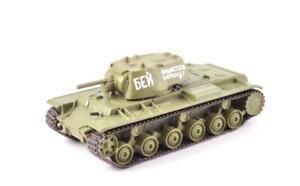 KV-1 blindé lourd 1:72 Véhicule Militaire Russe MILITARY TANK WW2 URSS CHAR -E04