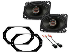 NEW INFINITY DASH CAR STEREO SPEAKER MOUNTING BRACKETS W HARNESS JEEP WRANGLER