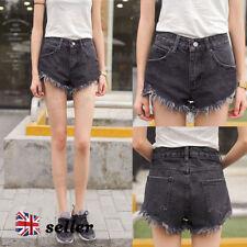 Unbranded Denim High Regular Size Shorts for Women