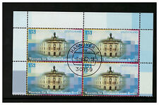 GERMANY DEUTSCHLAND 2002 COMMUNICATIONS MUSEUM BLOCK 4 FIRST DAY ISSUE HANOVER