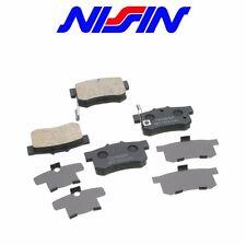 New Rear Nissin Brake Pad Set 2-wheel Coupe Sedan Acura Integra Legend CL