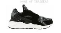 Nike Air Huarache Black Grey Green 318429015 Men's Trainers All Sizes (PTI)