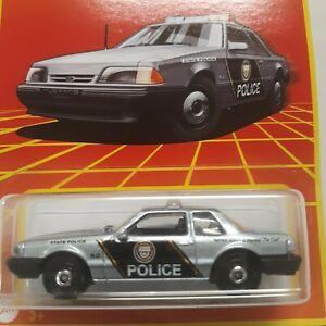 2021 Matchbox Retro Series Ford Mustang LX Police Car 16/24 Target Exclusive
