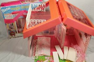 Vintage Barbie Magic House Dolls Dream House Playset 1992 90s Boxed RARE Retro
