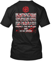 Templar Code - Be Without Fear In The Face Of Your Hanes Tagless Tee T-Shirt
