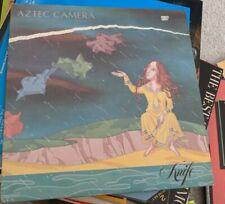 New listing RARE AZTEC CAMERA LP KNIFE  WX 8 WEA 1984 MATTE PRINTED INNER VINYL EXC COVER NM