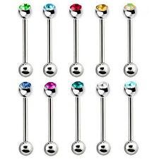 Piercing-Stecker aus Edelstahl für die Zunge