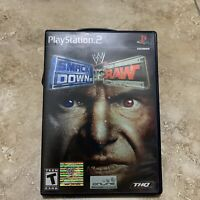 Rare WWE Smackdown Vs Raw Wrestling Game PlayStation 2 Ps2 Cib Booklet Classic
