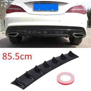 Universal Lower Rear Body Bumper Diffuser Shark 7 Fin Kit PU Spoiler Quality