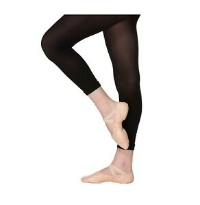 Footless Dance Tights-Soft Ballet Tight 40 Denier Girls 3-13-Ladies Small-Large