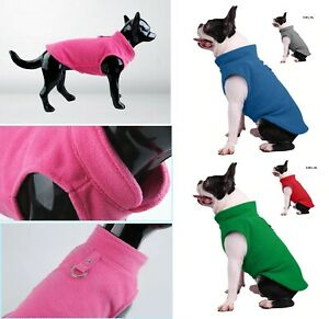For Small And Large Clothes Dogs Coat Jumper Jacket Shirt Sweatshirt Top Fleece