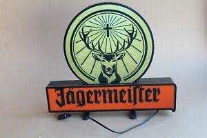 Jägermeister Leuchte, Leuchtreklame, Leuchtdisplay NEU