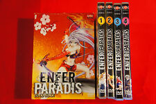 Hell & and Paradise Box 1 4 DVD+stickers/decal MANGA FRENCH VERSION VOSTF FULL