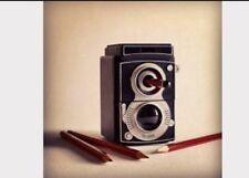 New Novelty Mr And Mrs Jones Vintage Style Camera Mechanical Pencil Sharpener