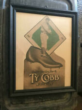 Ty Cobb Baseball Shoes Golden Sporting Shoe Co Advertising Print Detroit Tigers