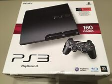 NEW Cech-3001a Sony Playstation 3 PS3 Slim Gaming Console NIB Sealed