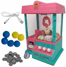 Carnival Claw Game Electronic Home Arcade Toy Grabber Crane Machine Seen TV USB