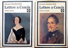 Giuseppe Gioachino Belli, Lettere a Cencia (Vincenza Perozzi Roberti), Edizio...
