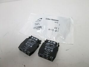 New Eaton Cutler Hammer E22KB53 Key Selector Switch With 2 E22B11 Contact Blocks