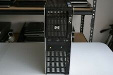 HP Z600 Workstation Xeon x5570 2.93GHZ Quad Cores 12GB 500 GB Win 10 Nvidia 1GB