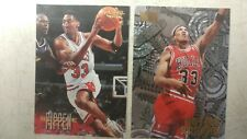 Scottie Pippen Lot of 2 Cards Nuts & Bolts #216 - Scottie Pippen G/F #15 Skybox