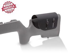 ".093"" Black Kydex Adjustable Cheek Rest Stock Riser scoped rifle, NRL22"