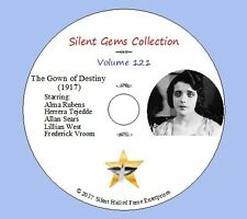 "DVD ""The Gown of Destiny"" (1917) starring Alma Rubens, Classic Silent Drama"