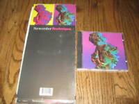 New Order Technique longbox and Original cd! -Rare! Joy Division