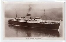 "S.S. ""ARNHEM"": British Railways shipping postcard (C15906)"