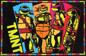 3x5 Area Rug TMNT  Teenage Mutant  Ninja Turtles  NICKELODEON Cartoon Hero NEW