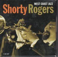 West Coast Jazz [Box] by Shorty Rogers (CD, Aug-2005, 4 Discs, Proper)