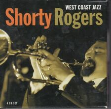 West Coast Jazz [Box] by Shorty Rogers (CD, Aug-2005, 4 Discs, Proper)